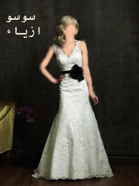 فساتين افراح فخمه 2012 موديلات